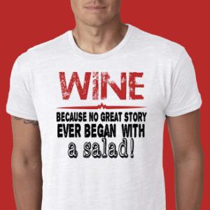 Mens Wine T-Shirts