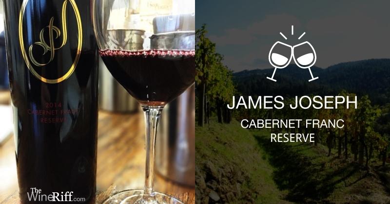James Joseph 2014 Napa Cabernet Franc
