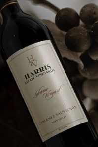 Harris Estate 2007 Cabernet Sauvignon Lakeview Vineyard