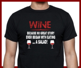 Mens Wine T Shirts