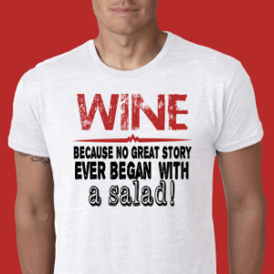 Mens Wine T-Shirts